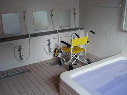 入浴用車いす写真