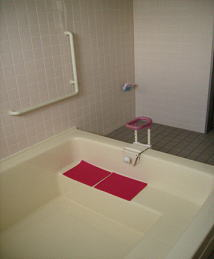 浴室の手すり写真