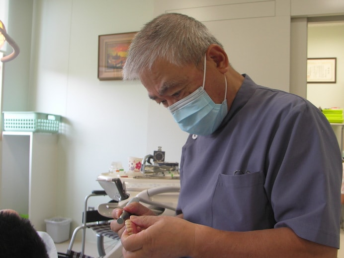 歯科診察(ゆうあい会診療所)
