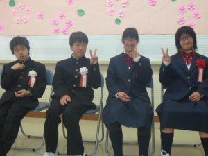 祝新入学(おしま学園)