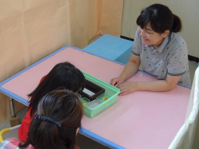 親子療育個別学習(おしま地域療育センター)