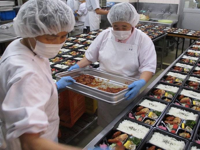弁当製造(おしま屋)