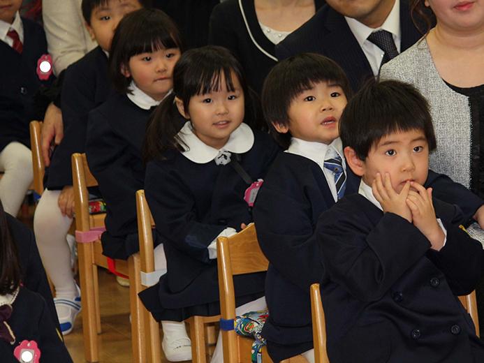 ゆうあい幼稚園 入園式
