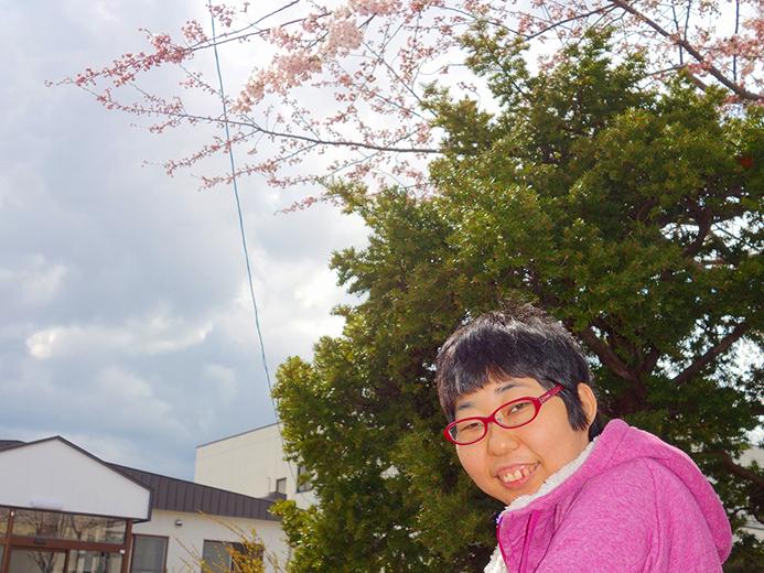 函館青年寮通所部にじ 春を探しに出かけましょう