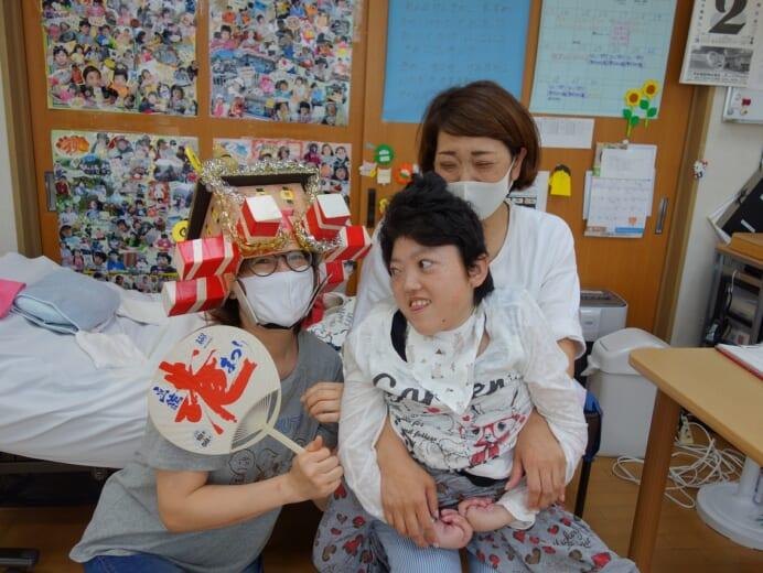 函館青年寮通所部 にじ 夏祭りの思い出