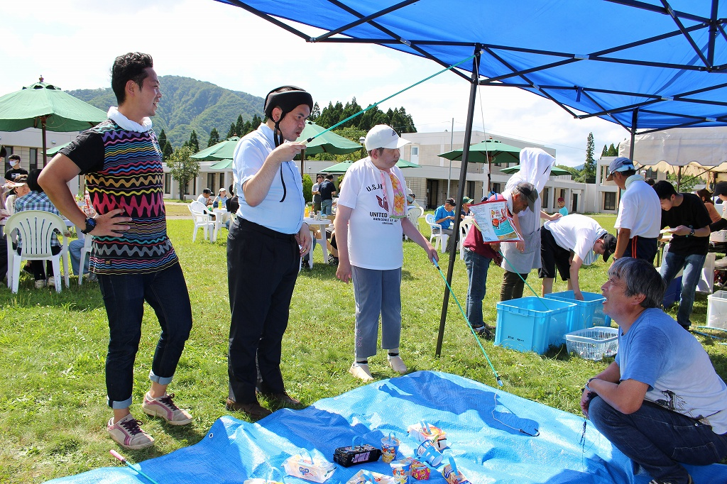 新生園 夏祭り