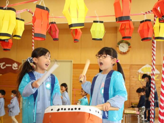 ゆうあい幼稚園 お祭りごっこ2