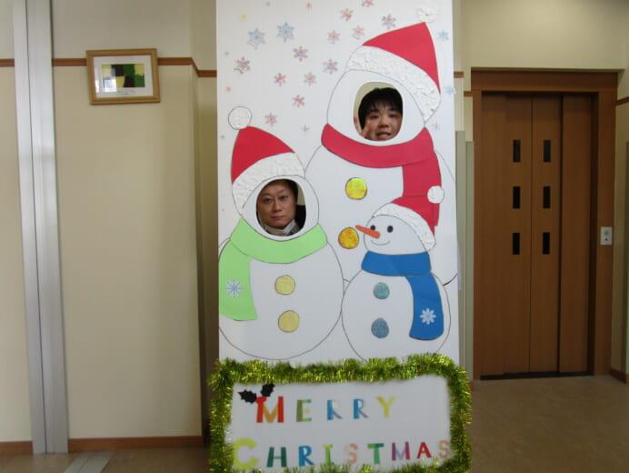 ワークセンターほくと「顔はめパネル~クリスマス~」